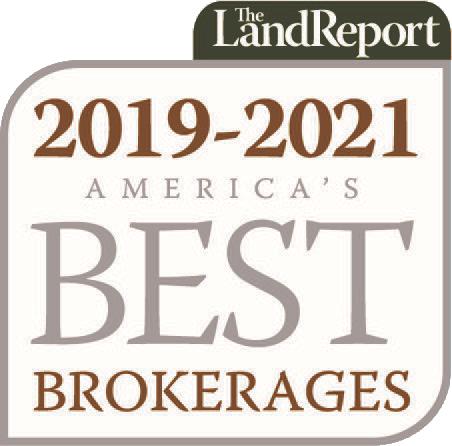 Land Report Best Brokerage 2019-2021